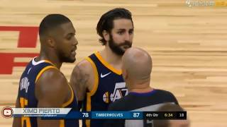 """Ricky Rubio Epic Flop Jimmy Butler Says """"SHUT THE F**K UP!"""""""