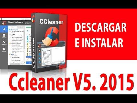 Descargar CCLEANER v5.02 Ultima version 2015 - Full Español para windows 7/8/8.1/10