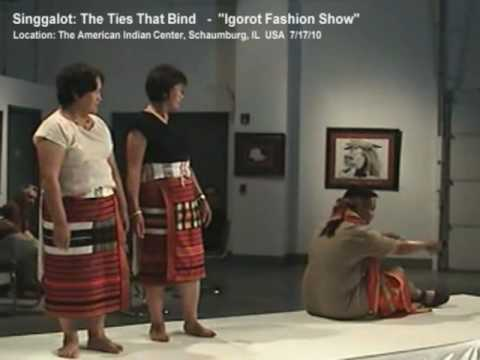 Igorot Fashion Show @ Singgalot Exhibition