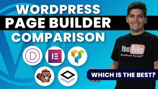 The Best Wordpress Page Builders Compared 2019 - Brizy, Elementor, Divi Compared!🔥