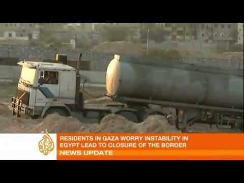 Egypt events spark Gaza fuel panic   Middle East   Al Jazeera English