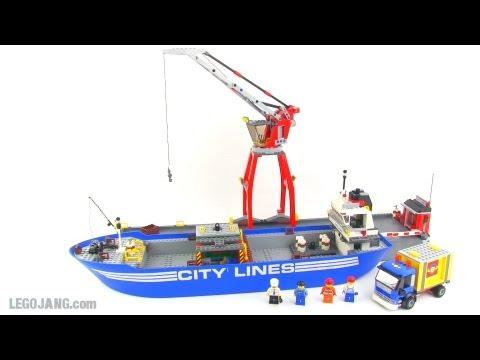 LEGO City 7994 Harbor review!
