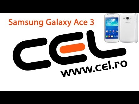 UNBOXING & REVIEW Samsung Galaxy Ace 3 dual-SIM