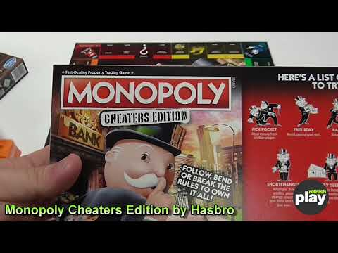 Monopoly Cheaters Edition Board Game Unboxing & First Look!