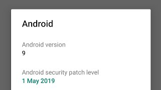 Asus zenfone Max Pro M2 receive 73 mb Update receive with latest MAY security patch.