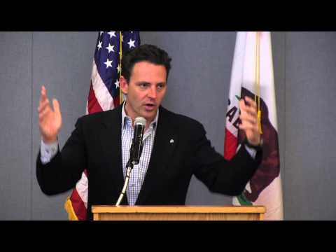 Nathan Fletcher Candidate For Mayor at the City Club Of San Diego