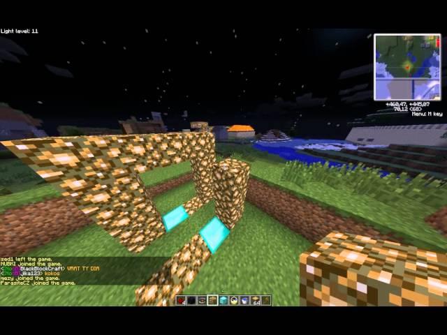 Minecraft VODNí PORTÁL