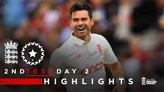 England Rally As Root Nears 50!   England v India - Day 2 Highlights