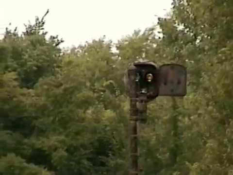 Creepy abandoned railroad junction at lynn indiana 1996 youtube