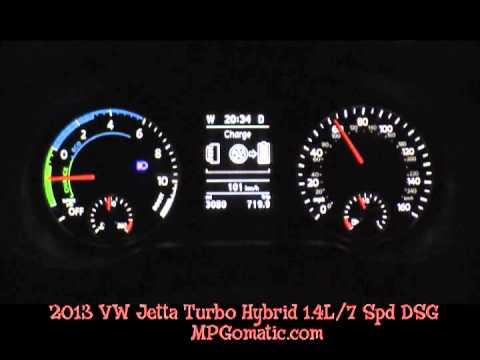 2013 VW Jetta Turbo Hybrid 0-60 MPH