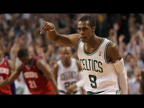 Rondo`s BIG game 7 three pointer!