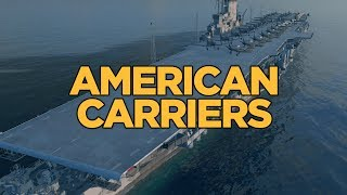 World of Warships - American Carriers