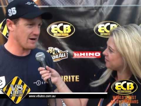 V8 Utes Round 7 Gold Coast - Post Race 1 with George Miedecke