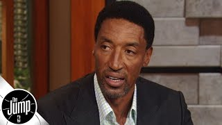 Scottie Pippen on how the hand-check ban changed the way he played defense | The Jump