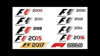 F1 game trailer compilation (2009 to 2018)