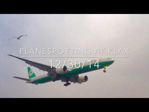 Planespotting at Los Angeles International Airport (KLAX)(LAX)