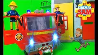 ???? Fireman Sam - Norman trapped - Jupiter to the rescue ! ????