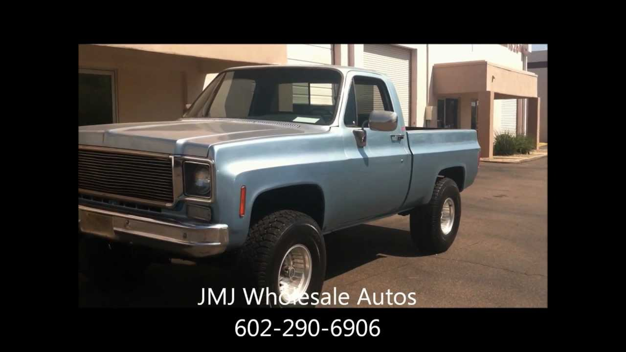 Short Bed 4x4 For Sale 1975 Chevy Short Bed 4x4 With