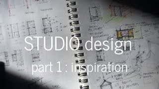 Designing a Small Studio - Part 1, The Concept & Inspiration