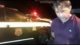 PRF prende motorista que passou a mais de 160 km/h no posto de Guaraciaba