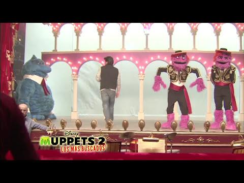 Detrás de cámaras Muppets 2: Los Mas Buscados