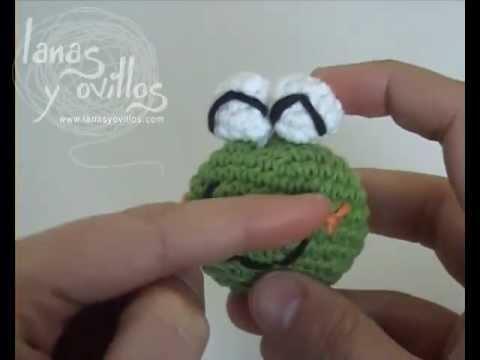 Tutorial Oveja Amigurumi Paso A Paso En Espanol : Tutorial Rana Amigurumi Frog (english subtitles) - YouTube