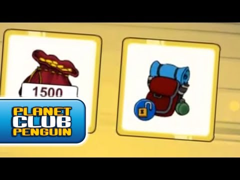 Club Penguin - Novo Item desbloque�vel do Club Penguin! - Agosto 2012