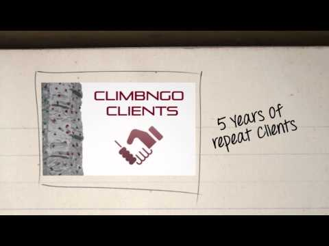 Climbngo Mobile Climbing Walls UK advertising Project