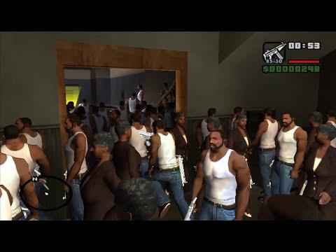 CJ y sus clones | GTA San Andreas MOD FAIL | Leer descripción