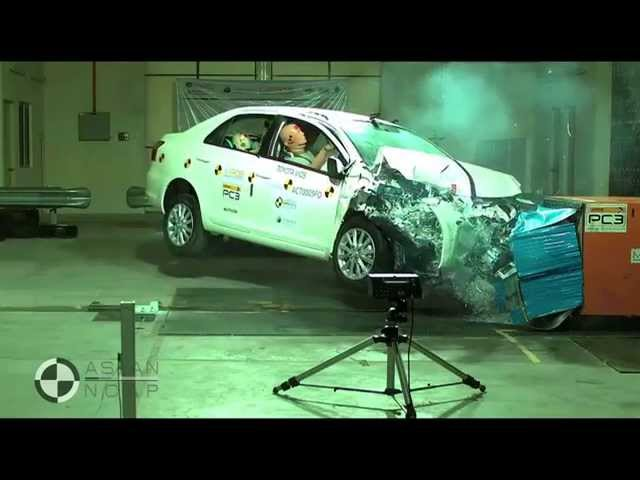 ASEAN NCAP - Toyota Vios - YouTube