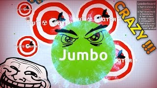 INTENSE AGARIO GAMEPLAY (Solo Agar.io Gameplay )