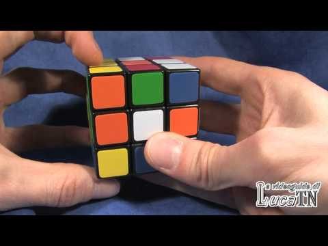 Rubik's Cube - The EASIEST way to solve it - Part 1 FIRST LAYER