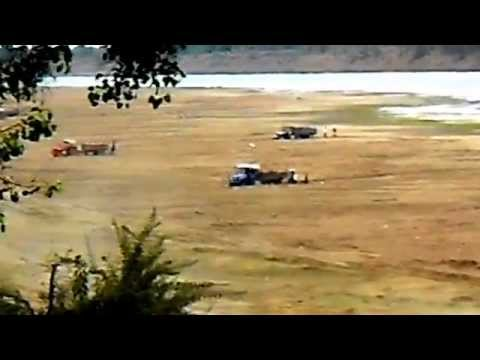 Illegal Sand Mining Narmada River Shahganj Bhopal India