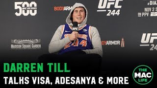 Darren Till talks Israel Adesanya, Yoel Romero & Move to Middleweight