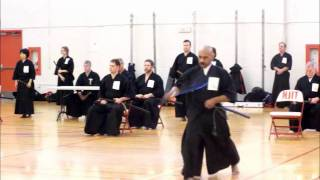 Les, February 2012 Iaido Shinsa, NJIT