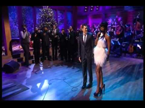 Michael Bublé  -  White Christmas (home For Christmas),featuring Kelly Rowland & Naturally 7 [hq] video