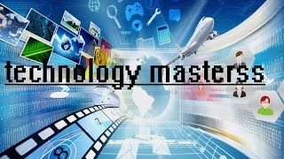 TECHNOLOGY MASTERSS INTRO