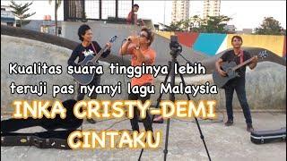 Download Lagu Demi cintaku-Inka cristy&amie search cover by pengamen nada tinggi handsright Gratis STAFABAND
