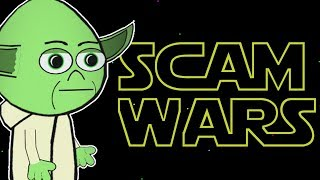 SCAM WARS Episode 1  - YODA Vs.TECH SCAMMERS (animated)