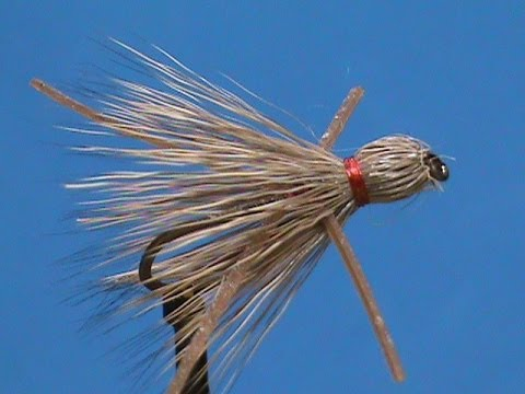 Fly Tying for Beginners Crazy Legs Deer Hair Bluegill Fly with Jim Misiura
