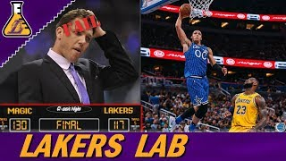 ORLANDO MAGIC SCORED 130 POINTS ON LAKERS?! LUKE WALTON NEEDS TO GO ASAP! (LAKERS LAB)