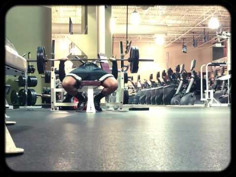 Bench Press: 225 lbs 18 reps at 226.5 lbs