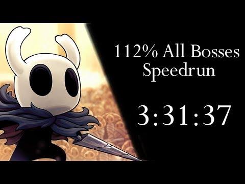 Hollow Knight 112% All Bosses NMG Speedrun - 3:31:37 [WR]