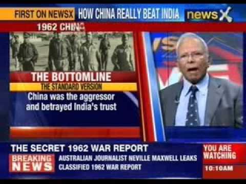 Australian Journalist Neville Maxwell leaks classified 1962 war report
