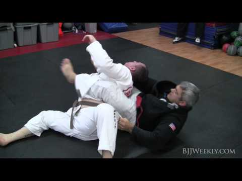 Jiu Jitsu Technique - Bow & Arrow Choke from Top Half Guard - Ricardo Liborio - BJJ Weekly #037 Image 1