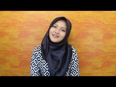 media hijab segi empat simple
