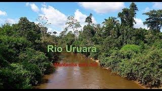 O Rio Uruará é de todos, preserve, não jogue lixo no rio
