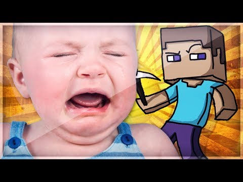 Trolling a 9 Year Old Kid in Minecraft