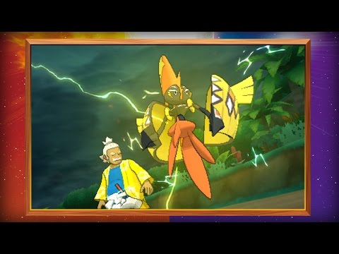 More Pokémon Revealed for Pokémon Sun and Pokémon Moon!