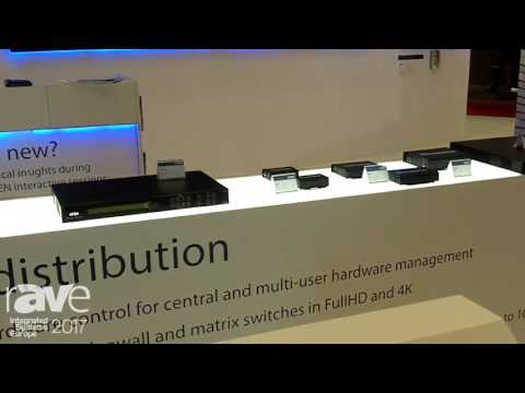 ISE 2017: ATEN Reveals VMG404H 4k Matrix Switch With Video Wall Function